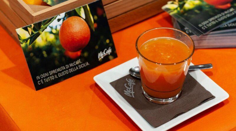 McDonald's Arancia rossa di Sicilia IGP