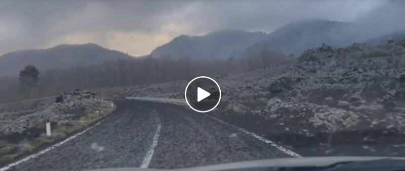 Etna video eruzione