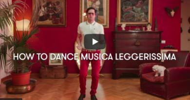 Musica leggerissima ballo video