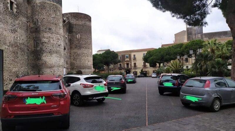 parcheggio selvaggio castello ursino catania