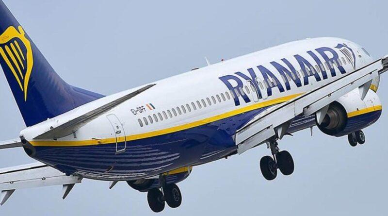 Ryanair Sicilia aeroporto Trapani