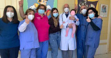bambina 8 mesi ospedale caltagirone