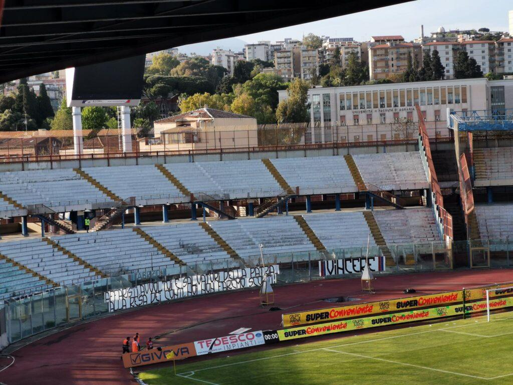 Calcio Catania striscione