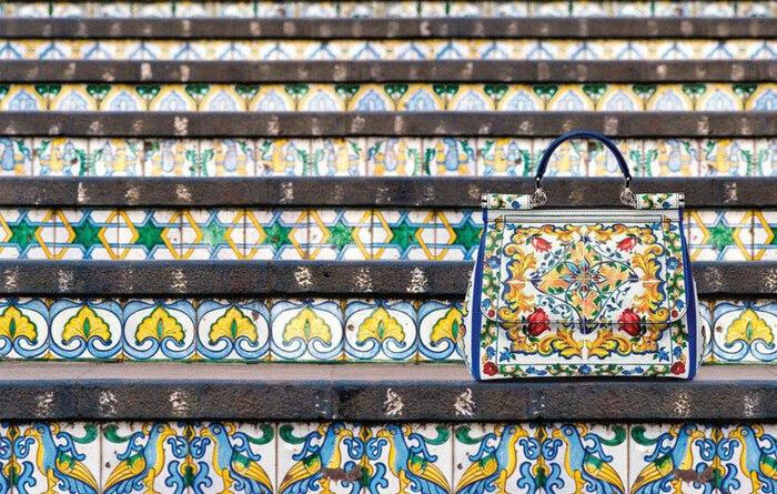 Caltagirone Dolce & Gabbana scala