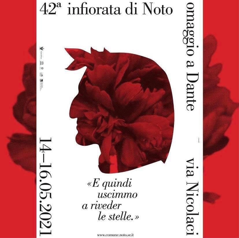 Infiorata Noto 2021 Dante