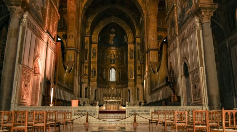 Duomo Monreale interno