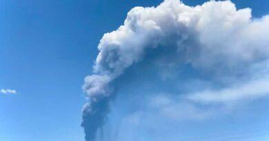 Etna cenere Catania 16 giugno