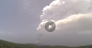 Etna eruzione video