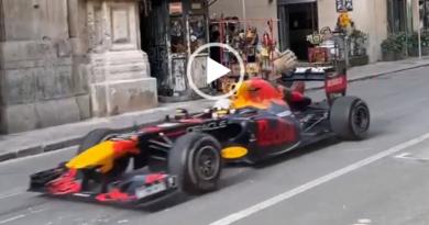 Formula 1 tra le vie di Palermo: città si sveglia col rombo Red Bull [VIDEO]