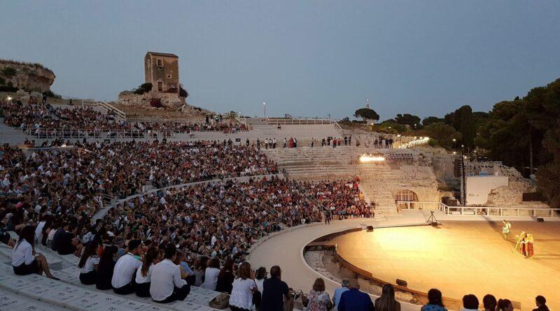 Teatro greco Siracusa tragedie