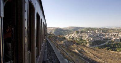 Treno barocco line Sicilia