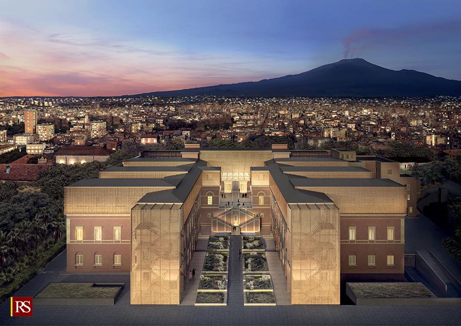 Museo Etna Catania esterno