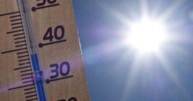 Caldo Sicilia termometro sole