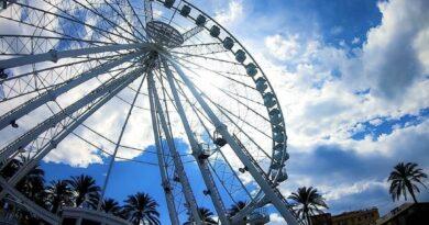 Catania ruota panoramica