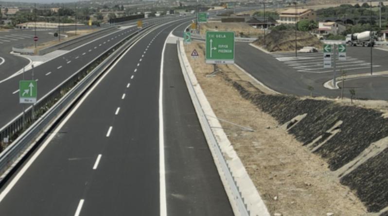 Autostrade siciliane Siracusa Gela