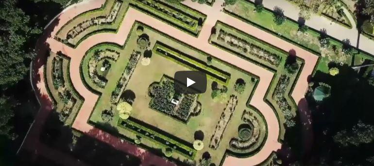Giardini Palazzo Orleans Palermo video