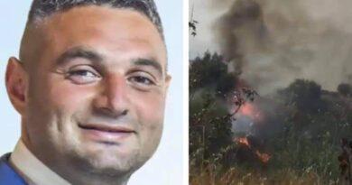 Incendio Paternò andrea distefano
