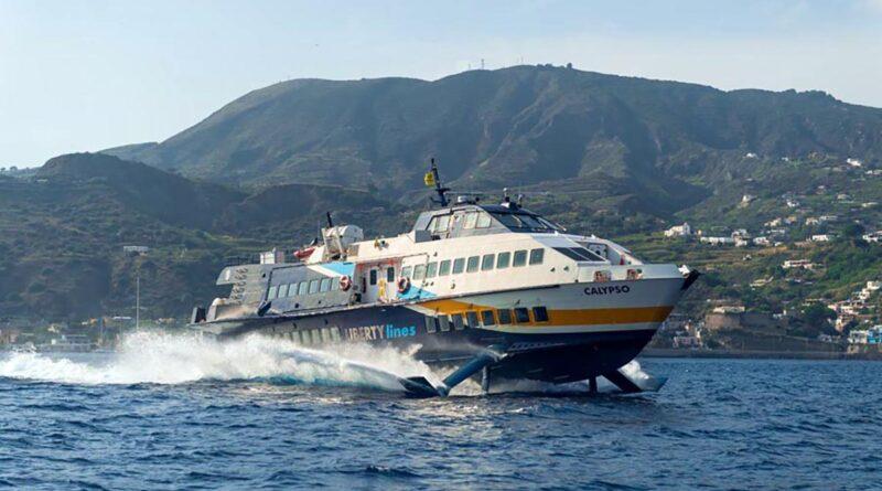 isole eolie aliscafi