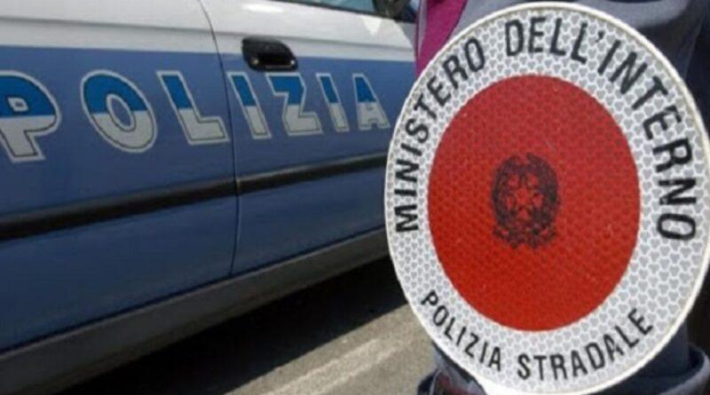 polizia stradale tangenziale catania corsia emergenza