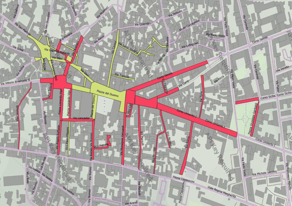 strade carnevale acireale 2021