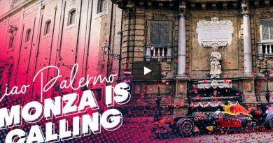 Ciao Palermo Red Bull Formula 1 video