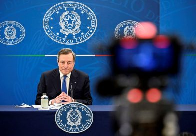 Mario Draghi conferenza stampa