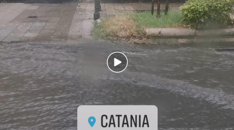 Nubifragio catania video