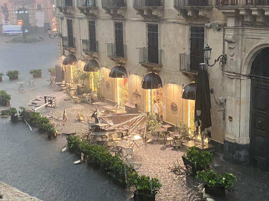 catania centro tornado maltempo