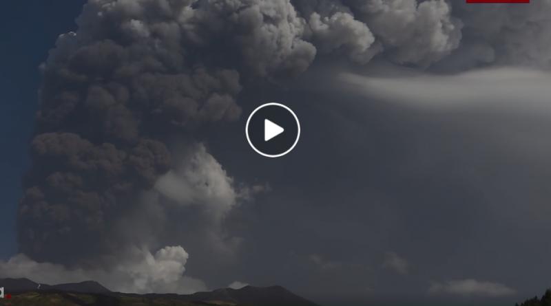 Etna parossismo eruzione